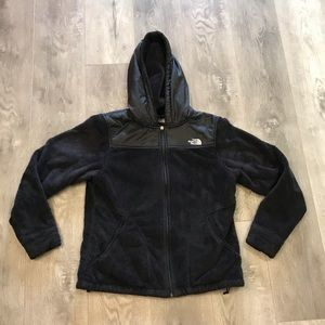 The North Face Oso Osito Soft Fluffy Jacket Hoodie